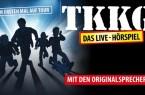 """: """"TKKG"""" endlich als Live - Hörspiel auf der Bühne des GERRY WEBER EVENT CENTER: Die vier original  Hörspiel - Sprecher Sascha  Draeger(alias  Tim), Manou  Lubowski(alias  Klößchen), Tobias  Diakow(alias  Karl)  und  Rhea  Harder- Vennewald(alias  Gaby)präsentieren  am  17.  November  2019  einen  bisher  unveröffentlichtenund brandneuen Fall,  hautnah und ähnlich wie bei den Studioaufnahmen."""