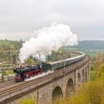 Mit der Schnellzugdampflok nach Koblenz -Bielefeld