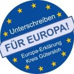 Unterschriften für Europa