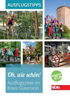 """Freie Zeit und Lust auf einen Ausflug? Die neue Broschüre """"Oh, wie schön!"""" gibt Anregungen für Unternehmungen im Kreis Gütersloh."""