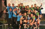 So sehen Sieger aus: Das Team von Skurios Volleys Borken feiert die Meisterschaft (Foto: Skurios Volleys Borken)