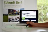Digitaler Wandel im Dorf Foto: Fraunhofer IESE DD_Plattform