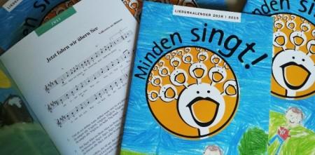Liederkalender (© Kulturbüro Stadt Minden)
