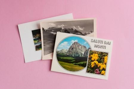 Lucie Marsmann: Postkarten, aus der Serie ULLA & WILLI, Archiv Alto Adige, 1968–2016