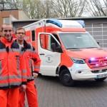 Neuer Rettungswagen der Feuerwehr Gütersloh