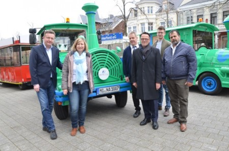 Saisonstart EMIL (c) Staatsbad Bad Oeynhausen GmbH