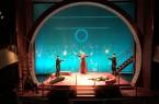 Bühnenbild Wagners Ring im Stadttheater Minden (Bildnachweis: Stadt Minden)