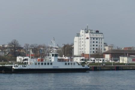 """Das """"WIROtel"""" auf der Warnemünder Mittelmole, Foto: WIRO/ckl"""