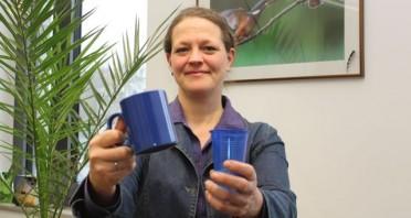 : Es gibt immer eine ökologische Alternative zum Plastik: Die Biologin Sonja Wolters leitet den Fachbereich Umweltschutz der Stadt Gütersloh.