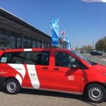 Anschluss per App: On-Demand-Shuttle für den Paderborn-Lippstadt Airport