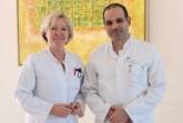 Mit Chefärztin Dr. Wencke Ruhwedel und Oberarzt Khalil Lafta können zwei Ärzte der Klinik für Frauenheilkunde und Geburtshilfe im Klinikum Gütersloh das MIC II-Zertifikat der Arbeitsgemeinschaft Gynäkologische Endoskopie e.V. (AGE) vorweisen.