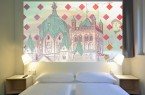 B&B- HOTELS. Die fertig gestellte Zimmermontage  Foto: B&B Hotels
