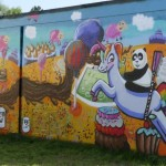 Rodenbeck ist cooler: Graffiti-Workshop bringt Farbe in den Stadtbezirk
