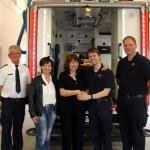 Notfallpatientin bedankt sich bei Rettungsdienst