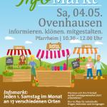 Infomarkt der zukünftigen Landesgartenschau 2023 in Höxter