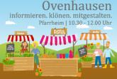 Flyer vom Infomarkt des Landesgartenschau - Projektes 2023