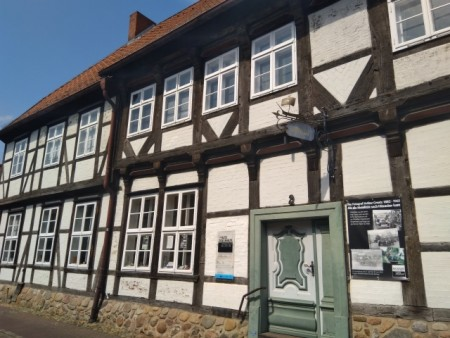 Das Fachwerkhaus - Idyll in Hitzacker, das Zollhaus bietet auf 3 Etagen spannende Einblicke in die Zeit der Grenzen, Foto: Christian Ottenberg