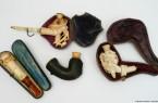 Meerschaumpfeifen & Zigarrenhalter aus Meerschaum aus der Sammlung des Mindener Museums Foto: Mindener Museum