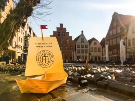 Die kommenden Westfälischen Hansetage finden in Warendorf statt. Rheda-Wiedenbrücker haben auch dieses Jahr die Möglichkeit, im Rahmen von Tagesfahrten den Hansemarkt zu besuchen. (Quelle: Stadt Warendorf)