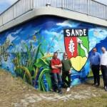 "Neues Graffiti – ein ""Hingucker"" am Lippesee"