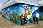 Neues Grafiti erstrahlt in seinem Glanz.  Foto: Stadt Paderborn