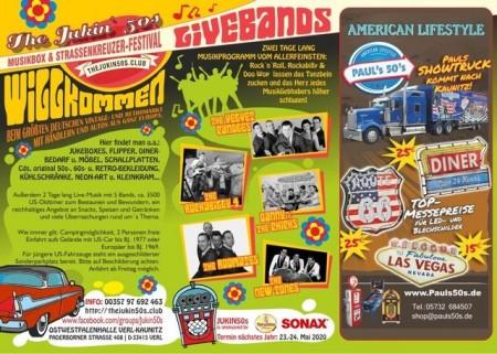 Musikbox- und Straßenkreuzer Festival - Plakat Seite 2