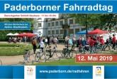 Plakat für den Paderborner Fahrradtag 2019