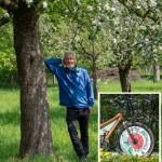 Klimatour von Hans Rutar macht Station beim BUND Lemgo