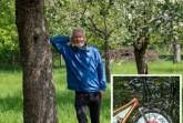 Hans Rutar in der Streuobstwiese in Lemgo Foto: Bund Lemgo