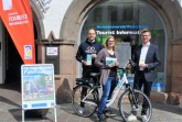 E- Bike - Abo Präsentation an der Tourist Information, Foto: Stadt Paderborn