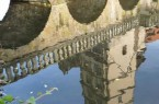 Wasserspiegelung Foto: Eckehardt Deichsel Weserrenaissance-Museum Schloss Brake