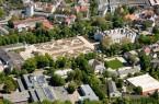 Luftaufnahme Schloß Neuhaus und Barockgarten, Foto: Gerd Vieler
