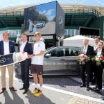 """Mercedes-Benz """"Beresa"""" präsentiert den Fahrservice für das ATP 500-Turnier"""