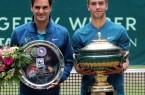 Federer, Roger+Coric, Borna (GRASS COURT OPEN HALLE)