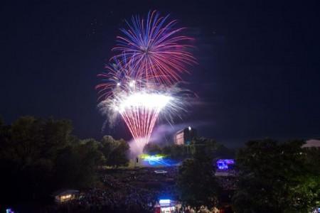 Feuerwerk Maxipark