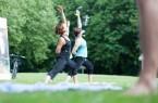 Gesundheitsangebot im Kurpark, Foto: Silke Wedler