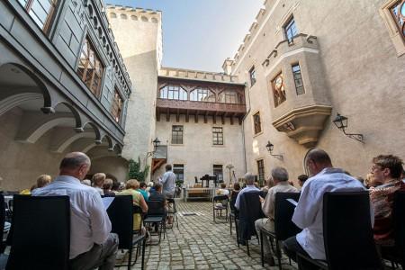 Schloss Fischbach ist einer der Veranstaltungsorte beim Festival dell'Arte. Foto: Szymon Bialic