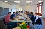 : Lebhafte Diskussion und intensiver Austausch beim Runden Tisch der Kultur.