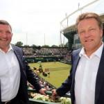 Inhaltlich passende Zusammenarbeit beim ATP-Turnier in Halle
