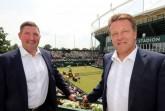: Starkes Doppel: Turnierdirektor Ralf Weber (rechts) und NOVENTI-Vorstand Dr. Sven Jansen. © NOVENTI OPEN/HalleWestfalen