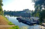 Was soll in den kommenden zehn Jahren auf dem Rechten Weserufer passieren?. Foto: Stadt Minden