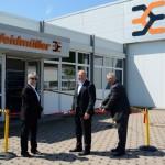 Weidmüller eröffnet neue Produktionshalle am Standort in Thüringen