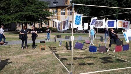 """Vom 03. bis 05. Juli d. J. führte die Bielefelder Bürgerstiftung wieder mit hochkarätigen Partnern das Kunstprojekt """"BieleFELD"""" durch."""