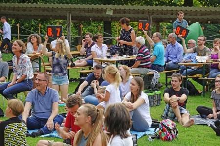 Das Publikum entscheidet, wer am Ende des Abends als Gewinner nach Hause geht. Foto: LWL/Jähne