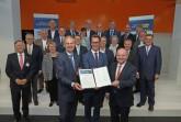 Allianz von IHKs, HWKs, DGB, Verbänden und Initiativen übergibt Memorandum an NRW-Verkehrsminister Wüst .Foto:IHK (Kaup)