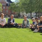 Friday-for-Future-VertreterInnen im Gespräch mit Bürgermeister und Verwaltungsspitze