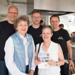 Vorstände der EDEKA Minden-Hannover grillen für den guten Zweck