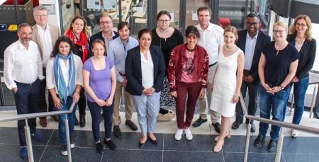 Gruppenfoto Treffen Europäische Universität