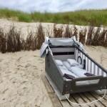 Strandschlafen auf der Insel Wangerooge