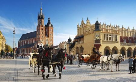 Krakau ist eines der beliebtes Städtereiseziele in Polen. Foto: Polnisches Fremdenverkehrsamt